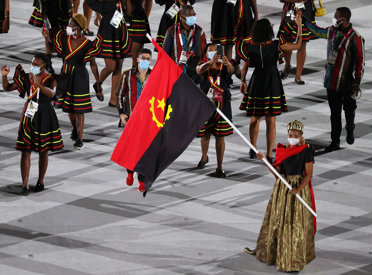 Opening ceremony of Summer Olympic Games in Tokyo, Japan